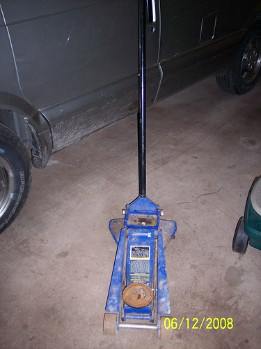 Sam's Club Floor Jack : sam's, floor, Jacking, Placing, Stands, Chevy