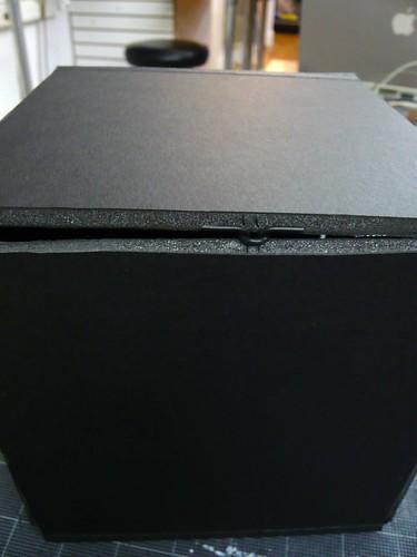 The black box: closed latch