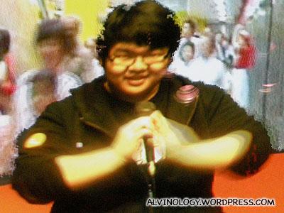 Happy Yongwei on screen