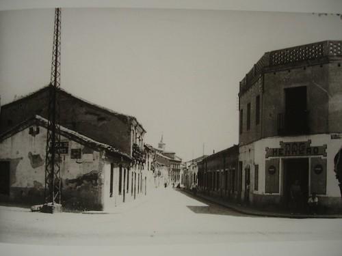 Calle Talamanca desde Daoiz y Velarde