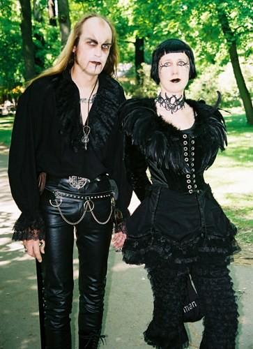 Goth Couple