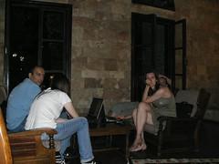 Ο Κορυδαλλός προετοιμάζεται στη ρεσεψιόν για wifi
