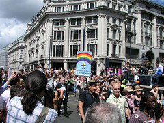 Lesbian and Gay Unitarians, London Pride 2008.