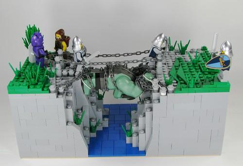 LEGO Troll Bridge