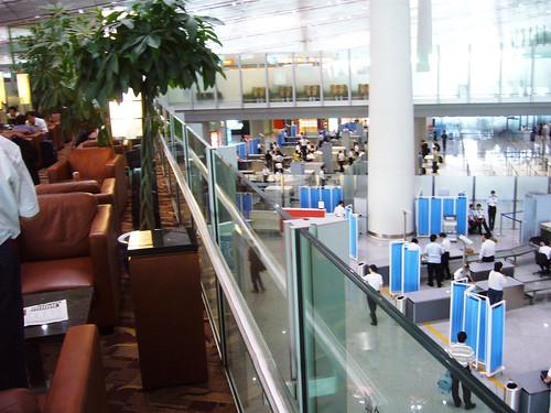 Business class lounge at Beijing Airport Terminal 3