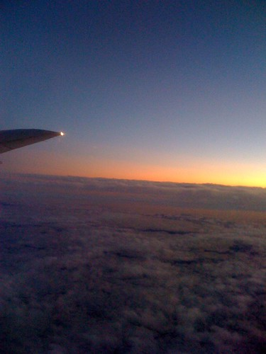 View on the plane home