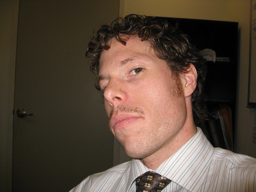Movember 13, 2008 - A little side-angle pose.  Sorry for the delay folks but more donations = more updates.