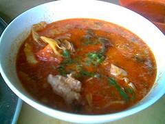 Sibu's Mei Le Cafe tom yam soup