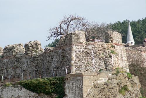 Riva castle and Riva village, blacksea region of Istanbul, pentax k10d