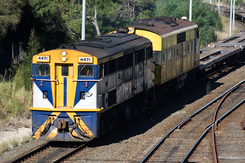 4471 Heading up a PPL Service at Botany