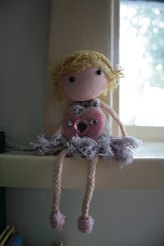 String doll made by Sumarrós