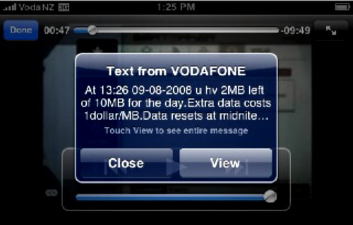 vodafone casual daily data cap notice
