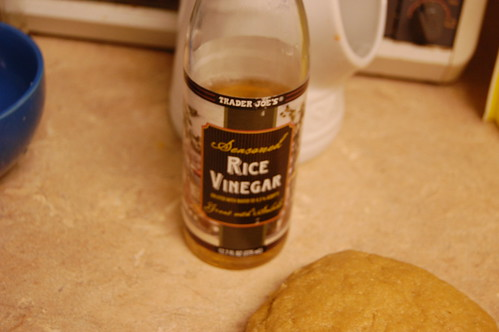 Rice Wine Vinegar.. or rolling pin?