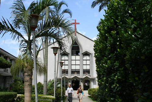Taipei baptist church near Guanghua