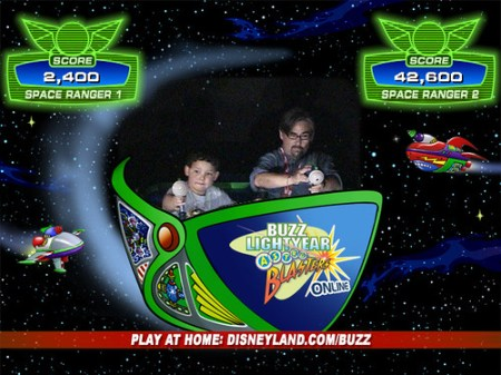 Playing Buzz Lightyear
