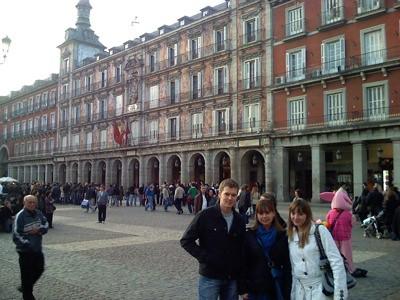 De paseo por la Plaza Mayor