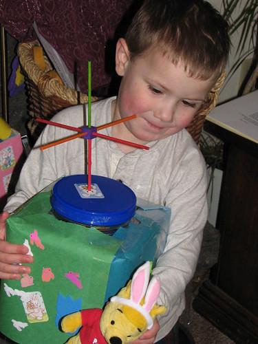 Jacob and Easter Basket
