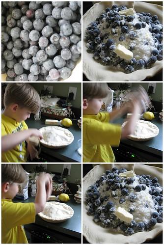 blueberry pie tutorial