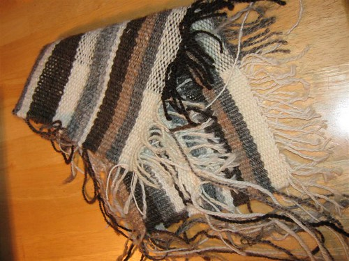 weaving with loose ends