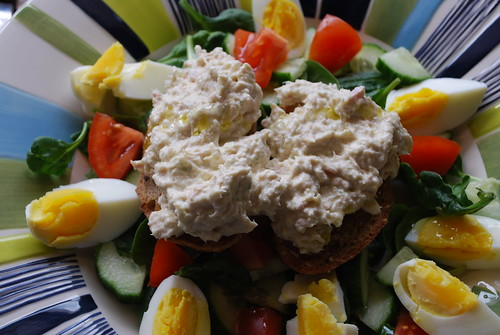 Tuna and lime salad