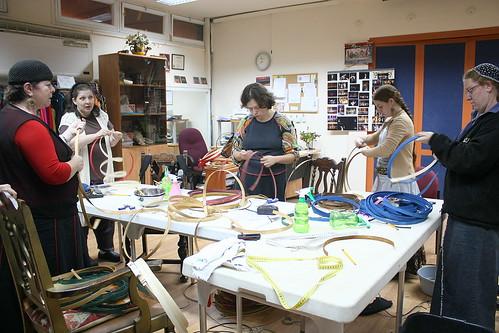 Basket-weaving class 3