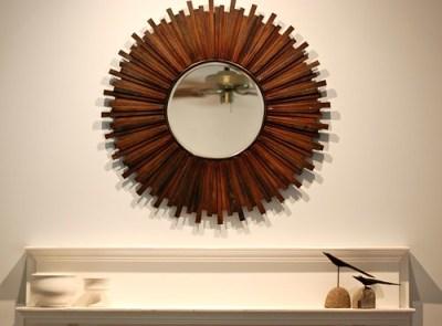 Mom's sunburst mirror 2
