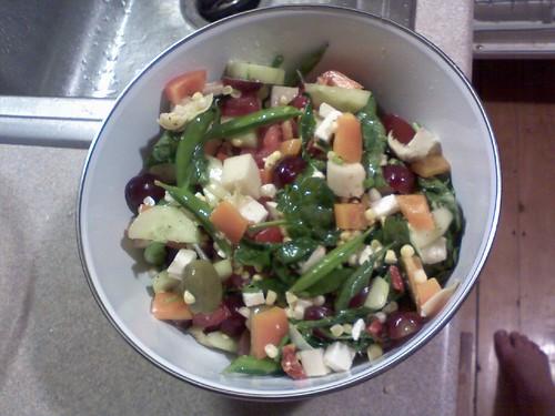 in season salad
