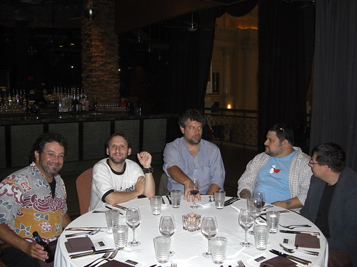 Affiliate Summit Dinner in Vegas 2