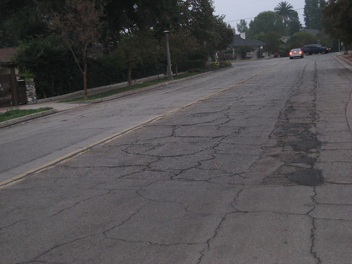 potholes and your fuel economy