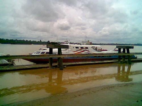 Rejang River express boats