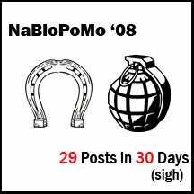 NaBloPoMo 08 loser badge