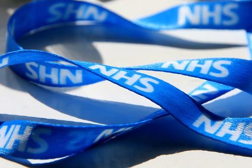 NHS ribbon lanyard