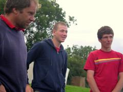 Andrew, Dom & Matt