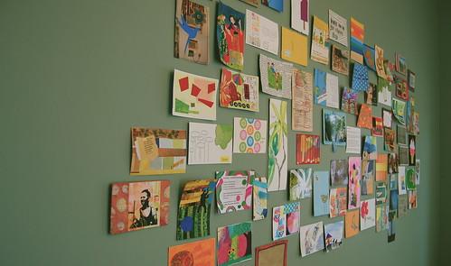random postcards