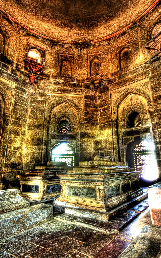 The Eerie and Beautiful Glowing Mausoleum