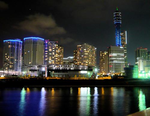 Minato Mirai 21 at night - Yokohama