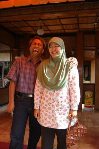 Bambang L Widjanarko and His Wife
