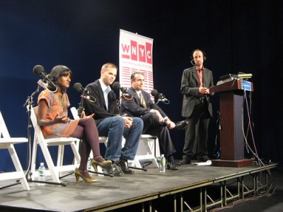 Fi2Ws Aswini Anburajan on The Brian Lehrer Show at Hofstra University