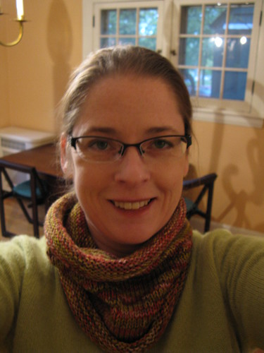 Gloria Cowl, with New Glasses