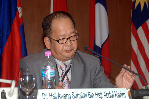 Dr. Haji Awang Suhaimi bin Haji Abdul Karim, Chief Librarian, Universiti Brunei Darussalam