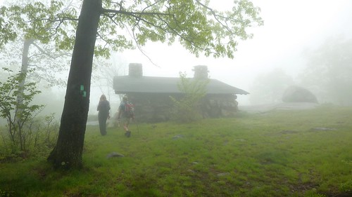 Big Hill Shelter in the Mist