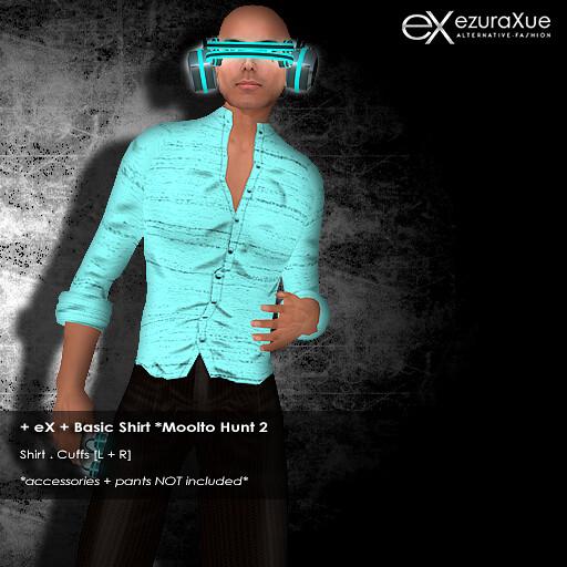 + eX + Basic Shirt *Moolto Hunt 2