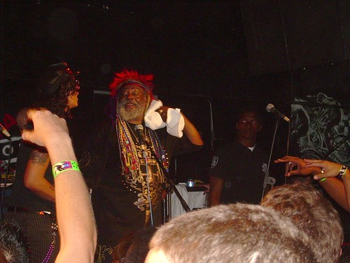 George Clinton Show @ Crash Mansion