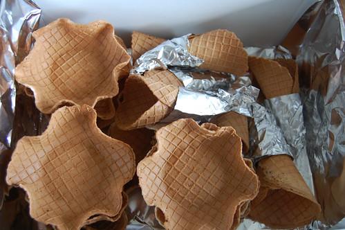 Vegan Waffle Cones & Bowls