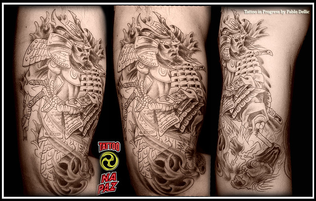 Samurai tattoo gallery best tattoo for Chinese triad tattoo