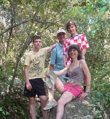 Pete, Juliette, Alex and Nick