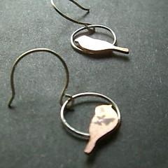 Copper Chick Earrings