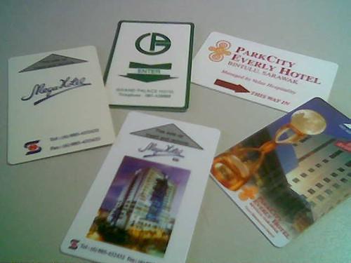 STP's hotel key cards 4