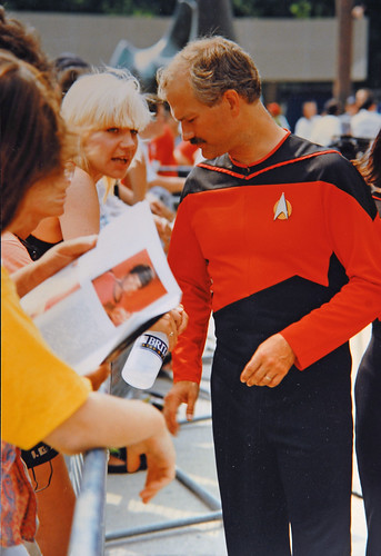Jack Layton - Star Trek Convention