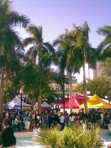 At the Miami Book Fair